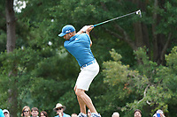 Sergio Garcia (ESP) tees off the 18th tee during Wednesday's Practice Day of the 2017 PGA Championship held at Quail Hollow Golf Club, Charlotte, North Carolina, USA. 9th August 2017.<br /> Picture: Eoin Clarke | Golffile<br /> <br /> <br /> All photos usage must carry mandatory copyright credit (&copy; Golffile | Eoin Clarke)