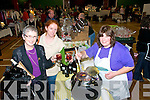 Craft & Food Fair: Sampling the delidhts of mulled wine are Eileen and Margarite Purcell from Ballynion and stall seller Joan McCarthy at  the Ballybunion Craft and Food fair on Sunday