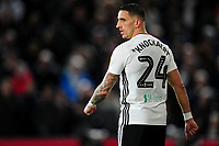 Anthony Knockaert of Fulham during the Sky Bet Championship match between Fulham and Swansea Citry at Craven Cottage in London, England, UK. Wednesday February 26, 2020.