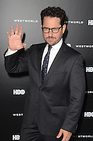 HOLLYWOOD, CA - SEPTEMBER 28: J.J. Abrams at the premiere of HBO's 'Westworld' at TCL Chinese Theatre on September 28, 2016 in Hollywood, California. Credit: David Edwards/MediaPunch