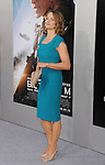 WESTWOOD, CA- AUGUST 07: Actress Jodie Foster arrives at the Los Angeles premiere of 'Elysium' at Regency Village Theatre on August 7, 2013 in Westwood, California.