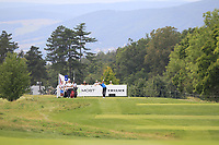 Sebastian Heisele (GER) on the 5th tee during Round 1 of the D+D Real Czech Masters at the Albatross Golf Resort, Prague, Czech Rep. 31/08/2017<br /> Picture: Golffile | Thos Caffrey<br /> <br /> <br /> All photo usage must carry mandatory copyright credit     (&copy; Golffile | Thos Caffrey)