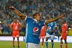 Millonarios ganó como local 3-0 a América. Fecha 9 Liga Águila I-2017.