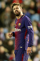 FC Barcelona's Gerard Pique during Spanish Kings Cup match. January 4,2018. (ALTERPHOTOS/Acero)