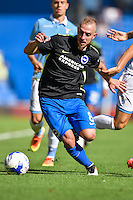 Jiri Skalak of Brighton & Hove Albion during the Friendly match between Brighton and Hove Albion and Lazio at the American Express Community Stadium, Brighton and Hove, England on 31 July 2016. Photo by Edward Thomas / PRiME Media Images.