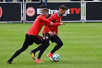 Danny Blum (Eintracht Frankfurt) und Ante Rebic (Eintracht Frankfurt) - 10.10.2017: Eintracht Frankfurt Training, Commerzbank Arena