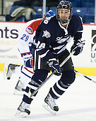 Jeff Silengo (UNH - 18) - The visiting University of New Hampshire Wildcats defeated the University of Massachusetts-Lowell River Hawks 3-0 on Thursday, December 2, 2010, at Tsongas Arena in Lowell, Massachusetts.