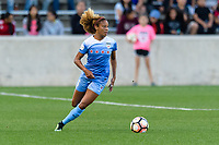 Bridgeview, IL - Saturday August 12, 2017: Casey Short during a regular season National Women's Soccer League (NWSL) match between the Chicago Red Stars and the Portland Thorns FC at Toyota Park. Portland won 3-2.
