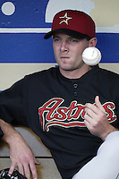 Billy Wagner of the Houston Astros before a 2002 MLB season game against the Los Angeles Dodgers at Dodger Stadium, in Los Angeles, California. (Larry Goren/Four Seam Images)