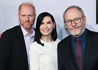 "09 May 2019 - Beverly Hills, California - Noah Emmerich Julianna Margulies, Liam Cunningham. National Geographic Screening of ""The Hot Zone"" held at Samuel Goldwyn Theater. Photo Credit: Billy Bennight/AdMedia"