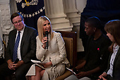 Advisor to the President Ivanka Trump speaks at the one year celebration of the Pledge to America's Workers at the White House in Washington D.C., U.S. on July 25, 2019.<br /> <br /> Credit: Stefani Reynolds / CNP