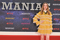 Sorcha Groundsell at the &quot;Maniac&quot; UK TV premiere, BFI Southbank, Belvedere Road, London, England, UK, on Thursday 13 September 2018.<br /> CAP/CAN<br /> &copy;CAN/Capital Pictures