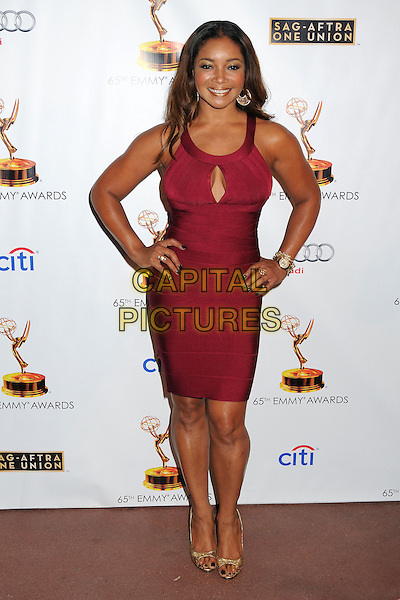 Tamala Jones<br /> Academy of Television Arts &amp; Sciences' Dynamic and Diverse 2013 Emmy Nominee Reception, North Hollywood, California, USA.<br /> September 17th, 2013<br /> full length red dress hands on hips<br /> CAP/ADM/BP<br /> &copy;Byron Purvis/AdMedia/Capital Pictures