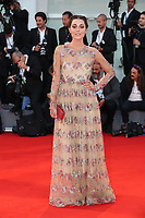 the red carpet ahead of the 'Racer And The Jailbird (Le Fidele)' screening during the 74th Venice Film Festival at Sala Grande on September 8, 2017 in Venice, Italy.<br /> CAP/GOL<br /> &copy;GOL/Capital Pictures