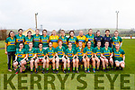 The Kerry Ladies seniors who faced Cork in the opening round of the Lidl NFL Division1 on Sunday last in Knocknagoshel.