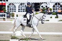 AUS-Natalie Blundell (ALGEBRA) INTERIM-8TH: CCI4* DRESSAGE: 2014 GER-Luhmühlen International Horse Trial (Thursday 12 June) CREDIT: Libby Law COPYRIGHT: LIBBY LAW PHOTOGRAPHY - NZL