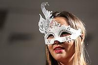 SAO PAULO, SP, 31.01.2015 - FASHION WEEKEND PLUS SIZE / INVERNO 2015 - Modelo durante desfile da grife Vislumbre (moda intima) no Fashion Weekend Plus Size , moda inverno 2015 no Centro de Convenções Frei Caneca na Bela Vista região central de São Paulo, na noite deste sábado, 31. (Foto: William Volcov / Brazil Photo Press).
