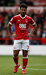 Liam Birdcutt of Nottingham Forest during the Championship match at the City Ground Stadium, Nottingham. Picture date 30th September 2017. Picture credit should read: Simon Bellis/Sportimage