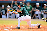Dartmouth Big Green infielder Matt Parisi (6) during a game against the Long Island Blackbirds at Chain of Lakes Stadium on March 17, 2013 in Winter Haven, Florida.  Dartmouth defeated UAB 11-4.  (Mike Janes/Four Seam Images)