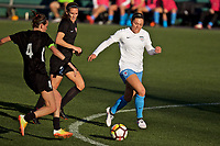 Portland, OR - Sunday March 11, 2018: Lauren Kaskie, Katherine Reynolds during a National Women's Soccer League (NWSL) pre season match between the Portland Thorns FC and the Chicago Red Stars at Merlo Field.