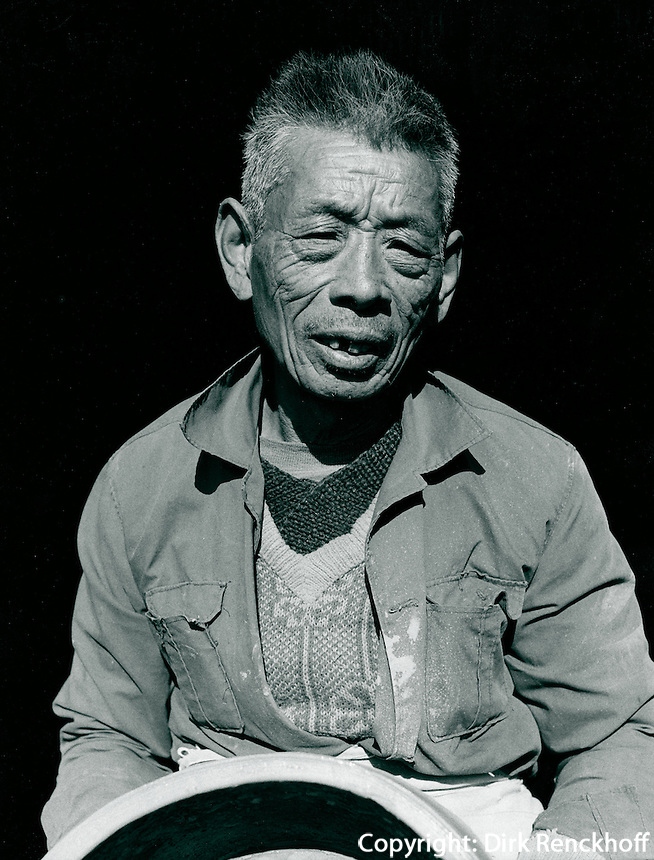 Töpfer in Yixing, China 1989