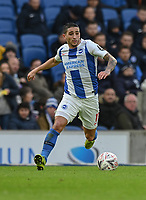 Brighton & Hove Albion's Anthony Knockaert <br /> <br /> Photographer David Horton/CameraSport<br /> <br /> Emirates FA Cup Fourth Round - Brighton and Hove Albion v West Bromwich Albion - Saturday 26th January 2019 - The Amex Stadium - Brighton<br />  <br /> World Copyright © 2019 CameraSport. All rights reserved. 43 Linden Ave. Countesthorpe. Leicester. England. LE8 5PG - Tel: +44 (0) 116 277 4147 - admin@camerasport.com - www.camerasport.com