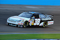 Nov. 7, 2008; Avondale, AZ, USA; NASCAR Sprint Cup Series driver David Gilliland during qualifying for the Checker Auto Parts 500 at Phoenix International Raceway. Mandatory Credit: Mark J. Rebilas-