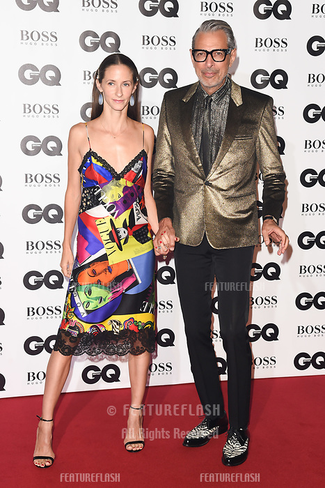 LONDON, UK. September 05, 2018: Jeff Goldblum at the GQ Men of the Year Awards 2018 at the Tate Modern, London
