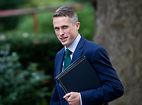 Chief Whip (Parliamentary Secretary to the Treasury) Gavin Williamson arrives for the cabinet meeting at 10 Downing street