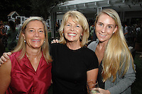 Sarah Jensen, Diane Naegle, Liz Jensen==<br /> LAXART 5th Annual Garden Party Presented by Tory Burch==<br /> Private Residence, Beverly Hills, CA==<br /> August 3, 2014==<br /> ©LAXART==<br /> Photo: DAVID CROTTY/Laxart.com==