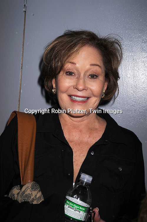"Marj Dusay, actress on Guiding Light..at the after party for the play reading of ""Laugh Lines"" ..written by Penny Bergman and starring Kim Zimmer, Marj Dusay, of Guiding Light, Ilene Kristen, of One Life to Live, Bobbie Eakes and Melissa Claire Egan of All My Children on ..May 10, 2008 at The Chashama Theatre in New York City. ....Robin Platzer, Twin Images"