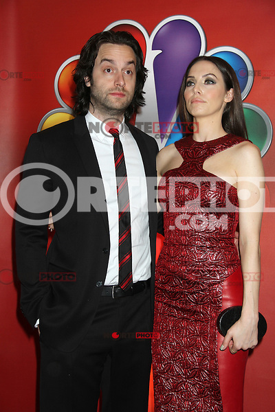 Chris D'Elia and Whitney Cummings at NBC's Upfront Presentation at Radio City Music Hall on May 14, 2012 in New York City. ©RW/MediaPunch Inc.