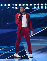 SANTA MONICA - JUNE 15: Zachary Levi hosts the 2019 MTV Movie & TV Awards at the Barker Hangar in Santa Monica, California. The show airs on MTV on Monday, June 17. (Photo by Frank Micelotta/PictureGroup)
