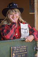Gold panners, Gold dredge #8, Fairbanks, Alaska