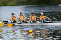 Race: 128: W Tier1 4x  Final<br /> <br /> Peterborough Summer Regatta 2017 - Sunday<br /> <br /> To purchase this photo, or to see pricing information for Prints and Downloads, click the blue 'Add to Cart' button at the top-right of the page.