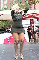 09 September 2017 - Las Vegas, Nevada - Bebe Rexha. Bebe Rexha performs at Flamingo GO Pool. <br /> CAP/ADM/MJT<br /> &copy; MJT/ADM/Capital Pictures