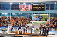 SCHAATSEN: HEERENVEEN: 08-01-2017, IJsstadion Thialf, ISU EC Sprint & Allround, huldiging, ©foto Martin de Jong