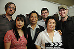 48-Hour Film Project Kaohsiung - Production stills for the movie 'The Book of Names'<br /> <br /> Jarred, Peggy, Fa Ge, Shaun, the midwife and Keith after wrapping the final scene of this long day.