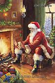Marcello, CHRISTMAS SANTA, SNOWMAN, WEIHNACHTSMÄNNER, SCHNEEMÄNNER, PAPÁ NOEL, MUÑECOS DE NIEVE, paintings+++++,ITMCXM1203A,#X# ,fireplace