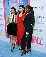 """07 August 2019 - Beverly Hills, California - Kirby Howell-Baptiste, Ginnifer Goodwin, Lucy Liu . CBS All Access' """"Why Women Kill"""" Los Angeles Premiere held at The Wallis Annenberg Center for the Performing Arts.  <br /> CAP/ADM/BB<br /> ©BB/ADM/Capital Pictures"""