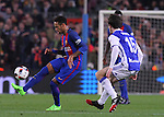 26.01.2017 Barcelona. Copa del Rey.Picture show Neymar in action during game between FC Barcelona against Real Sociedad at Camp Nou