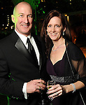 Ben and Colleen Oldham at the Gala on the Green benefitting the Discovery Green Conservancy Saturday Feb. 27,2010. (Dave Rossman Photo)