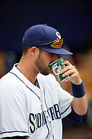 Charlotte Stone Crabs Josh Rapacz before a game against the Palm Beach Cardinals on April 11, 2017 at Charlotte Sports Park in Port Charlotte, Florida.  Palm Beach defeated Charlotte 12-6.  (Mike Janes/Four Seam Images)
