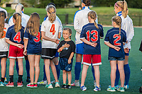 Boston, MA - Friday August 04, 2017: A small sidekick during a regular season National Women's Soccer League (NWSL) match between the Boston Breakers and FC Kansas City at Jordan Field.