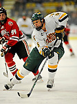 18 January 2008: University of Vermont Catamounts' forward Brayden Irwin, a Sophomore from Toronto, Ontario, in action against the Northeastern University Huskies at Gutterson Fieldhouse in Burlington, Vermont. The two teams battled to a 2-2 tie in the first game of their 2-game weekend series...Mandatory Photo Credit: Ed Wolfstein Photo