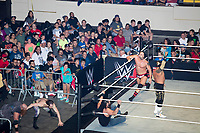 A match takes place during a WWE Live Summerslam Heatwave Tour event at the MassMutual Center in Springfield, Massachusetts, USA, on Mon., Aug. 14, 2017.