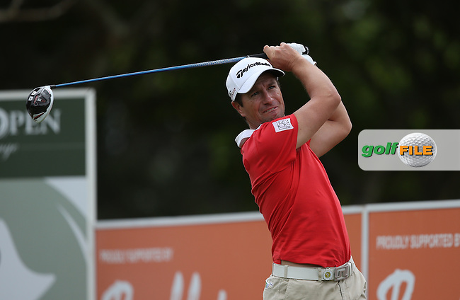 Steve Webster (ENG) carded a mix bag for his 73 during Round One of the Africa Open 2015 at the East London Golf Club, East London, Eastern Cape, South Africa. Picture:  David Lloyd / www.golffile.ie. 05/03/2015