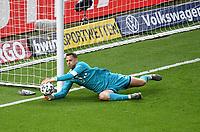 v. l. Manuel Neuer (FC Bayern Muenchen)<br /> <br /> Fussball, Herren, Saison 2019/2020, 77. Finale um den DFB-Pokal in Berlin, Bayer 04 Leverkusen - FC Bayern München, 04.07. 2020, Foto: Matthias Koch/POOL/Marc Schueler/Sportpics.de