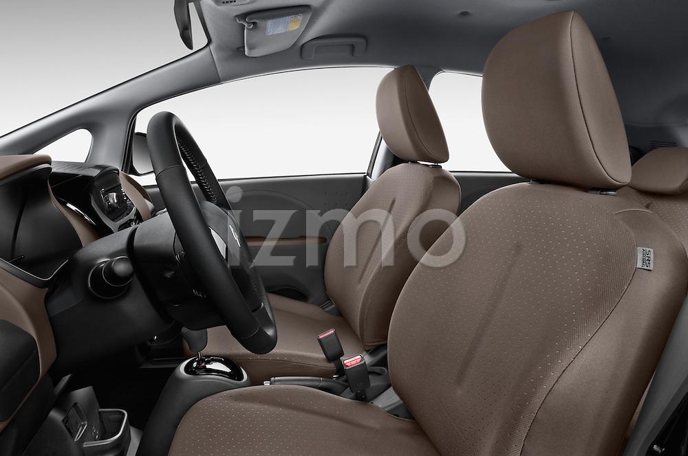 Front seat view of 2016 Citroen C-Zero Confort 5 Door Micro Car Front Seat  car photos