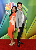 08 August 2019 - Beverly Hills, California - Kiran Deol, Moses Storm. 2019 NBC Summer Press Tour held at Beverly Hilton Hotel. <br /> CAP/ADM/BT<br /> ©BT/ADM/Capital Pictures